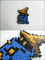 Final Fantasy 1 Black Mage (walking) magnet by 8bitcraft