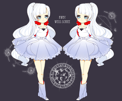 .:RWBY:. Weiss Schnee by mami-hime