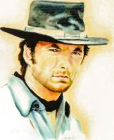 Clint Eastwood by Edwrd984