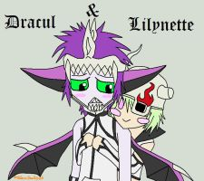 Dracul and Lilynette by BlazeSoul2546