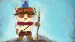 Teemo the Magnificent by MadGreenBunny