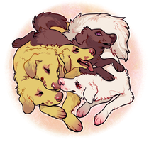 pups by edelilah