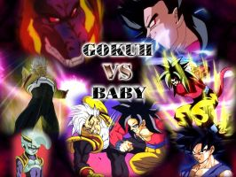Gokuh vs Baby by Hyurikken