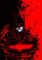 The-dark-knight-red by Ultrafpc