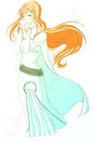 Orihime doddle by EchoBloom