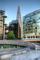 London ,Shard and Scoop 4 by Spyder-art