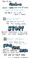 How to do FACEBOOK by Jayextee