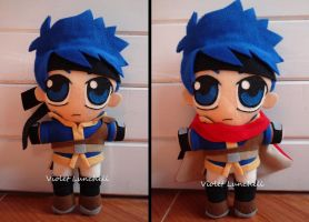 Smash Bros. Ike plushie (ver2) by VioletLunchell