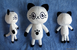 Poka Poka Mura Kitty Plush by xSystem