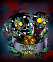 Creature Feature Zombies by aliencatx