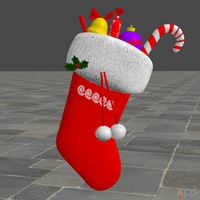 Christmas Sock WIP finished by ZayrCroft