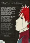 Gaara- Falling Tears into the Darkness by KamaSenya