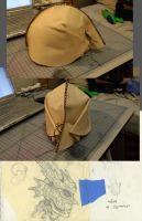 Leather Dragon Helm Preview by VanLogan