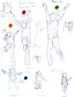 Poses V.1 by Amme-Hsuor