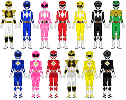 Power Rangers anyone? by Toshi-san