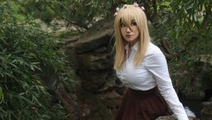 Historia Reiss / Christa Renz cosplay by BunnyHewley