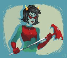 Terezi Pyrope - Homestuck by Yellow-Spandex