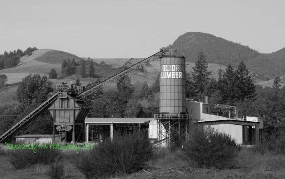 A Memory of a Lumber Mill by LilPhotoGal