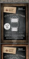 Coffee Shop Promotion Flyer Template 2 by Hotpindesigns