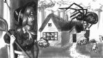 Not So Little Miss Muffet by down-your-spine