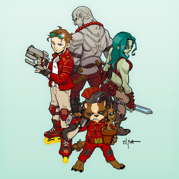 Guardians of the Galaxy by ElPino0921