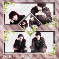 + Paquete Png | Trouble Maker #1 by RossBettancourtt