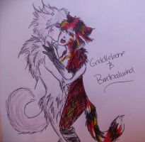 Griddlebone and Bombalurina by ImHerMonster