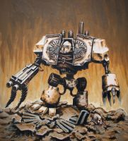 World Eaters Chaos Dreadnought by UnfriendlyGiant