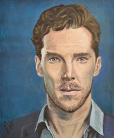 Benedict Cumberbatch by Queenoffools94