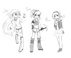 MCSM: the constalation (girl style) by 5Guardiians