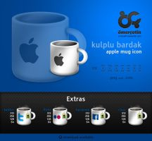 Apple Mug Icons and Extras by omercetin