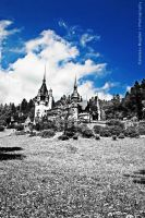 Peles Castle III HDR IR by HDRenesys