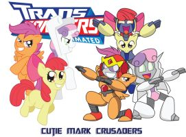Transformares Cutie Mark Crusaders by Inspectornills