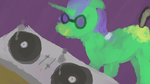 Random Pony: DJ Facesore by elnachato