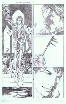 Sandman Page by AlonsoNunez