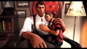 Daddy will always be here... by Sir-Ethin