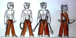 New ATOC's The Mohegan Hunters by ask-kevlron