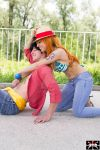 A couple for a straw-hat by BarbaNeraPhotos