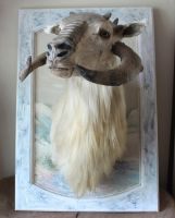 Taxidermy Teacup Tauntaun 1 by lupagreenwolf