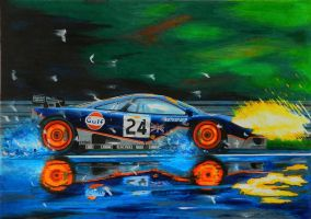 Mclaren F1 at lemans by klem