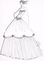 Ball Gown 01 by fasyonish