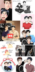 Dan and Phil Compilation 3 by incaseyouart
