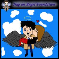 Castiel gets a Hug by MuseLover5