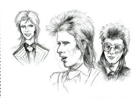 Bowie: sketch 3 by girl-skeleton