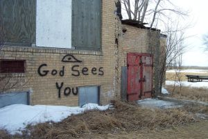 God Sees You by reznor70-stock