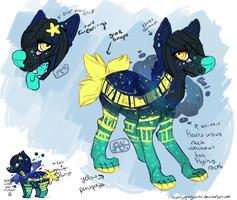Custom reference for adopt 7 by fluffygreysocks