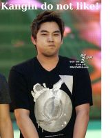 Kangin and his kooky faces by PirateIzzy