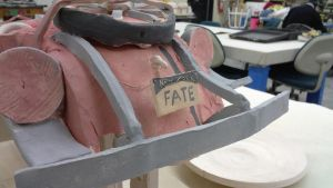 ceramic project ( my race car ) Part 2 by ownerfate