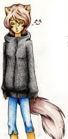 Serenity Human Pencil colored by LaunaWolf