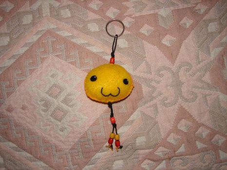 Poring Keychain by plushie-fans